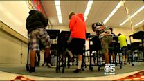 Marin County School Installs Standing Desks For Elementary Students