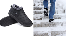 These 'comfy' anti-skid boots are a winter must-have—and they're only $30