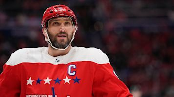 Ovechkin posts revenge hat trick after high stick