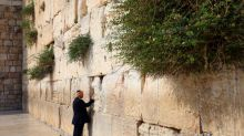 Female reporters 'unable to listen' to Trump's visit to Western Wall due to gender segregation