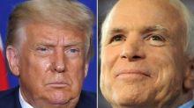 Video of Trump calling John McCain a 'loser' resurfaces after president denies calling war hero the same name