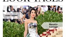 Look des Tages: Amal Clooney mit floraler Maxischleppe bei der Met Gala