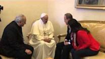 Pope Meets Ban Ki-Moon After Climate Change Summit