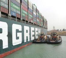 Suez canal blockage caused sulphur pollution spike