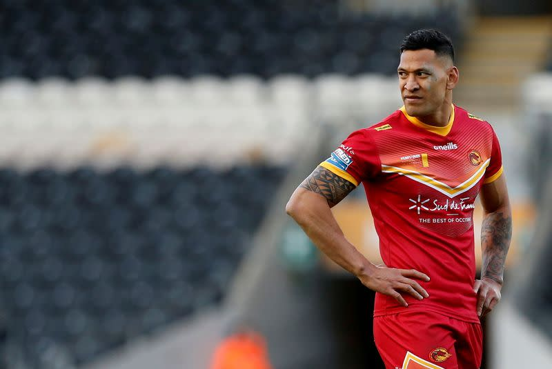 Rugby-Folau to join Japanese side NTT next season
