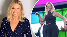Sonia Kruger leads Today show dance on her 54th birthday
