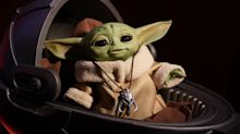 Raumstation ISS: Baby Yoda fliegt mit ins All