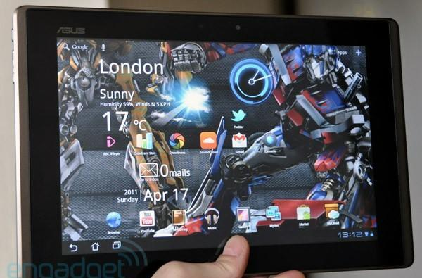 ASUS Eee Pad Transformer (UK edition) review