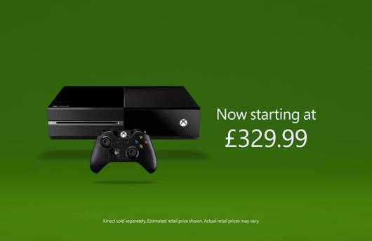 Xbox One price cut in UK