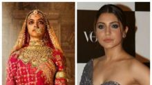 Anushka Sharma gets philosophical when asked about Deepika Padukone's Padmavati poster. Read details