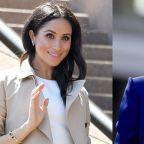 Meghan Markle Just Wore Princess Diana's Earrings and Bracelet
