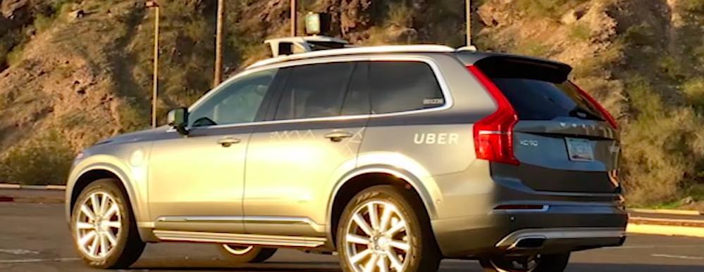 uber orders volvo xcs  driverless fleet video