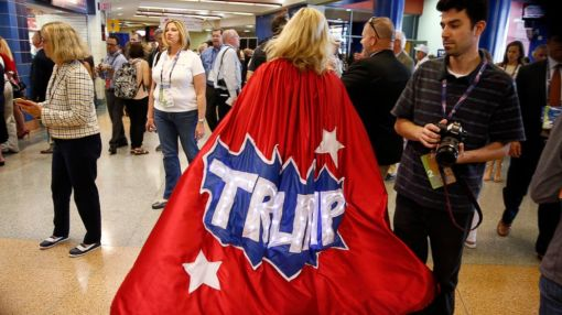 Inside the Arena: What It's Like to Be on the GOP Convention Floor in Cleveland
