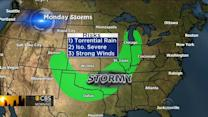 Severe weather threat: Parts of Midwest and Plains facing strong storms