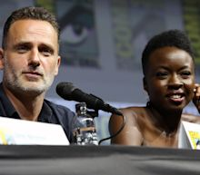 'Walking Dead' Star Danai Gurira Gives 'Heartbreaking' Goodbye To Andrew Lincoln