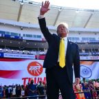 Trump kicks off India trip with rally of more than 100,000 people