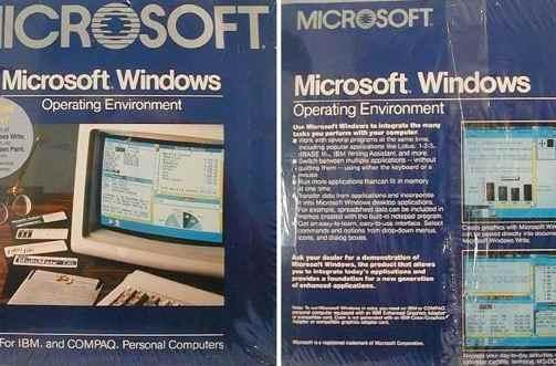 Windows 1.0 debuts 25 years ago today (video)