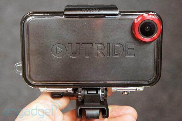Mophie Outride ruggedized action case for iPhone hands-on
