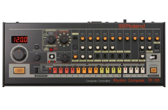Roland's revival of the iconic TR-808 makes classic sounds portable