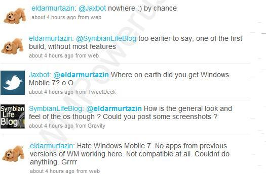Early Windows Mobile 7 build gets handled, incompatible with previous WinMo apps?