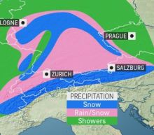 Cold storm to bring burst of snow to central Europe around midweek
