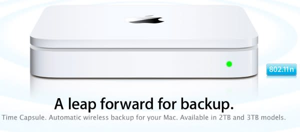 Apple unveils updated Time Capsule, bumps storage to 3TB