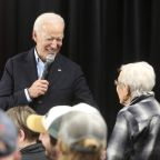 No malarkey: Biden courts Iowans, balances national campaign