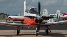 A US Navy training aircraft crashed into an Alabama neighborhood, killing both crew members on board
