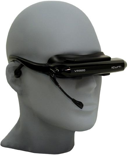 Icuiti's latest: the VR920 headset