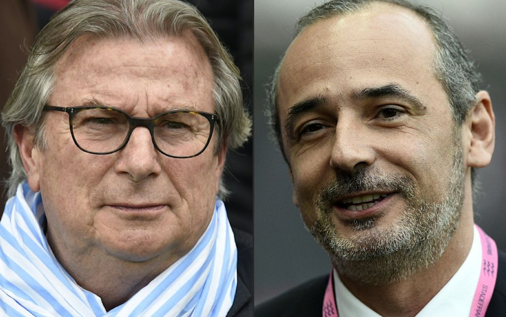 Jacky Lorenzetti (left) and Thomas Savare have called off the merger - AFP or licensors