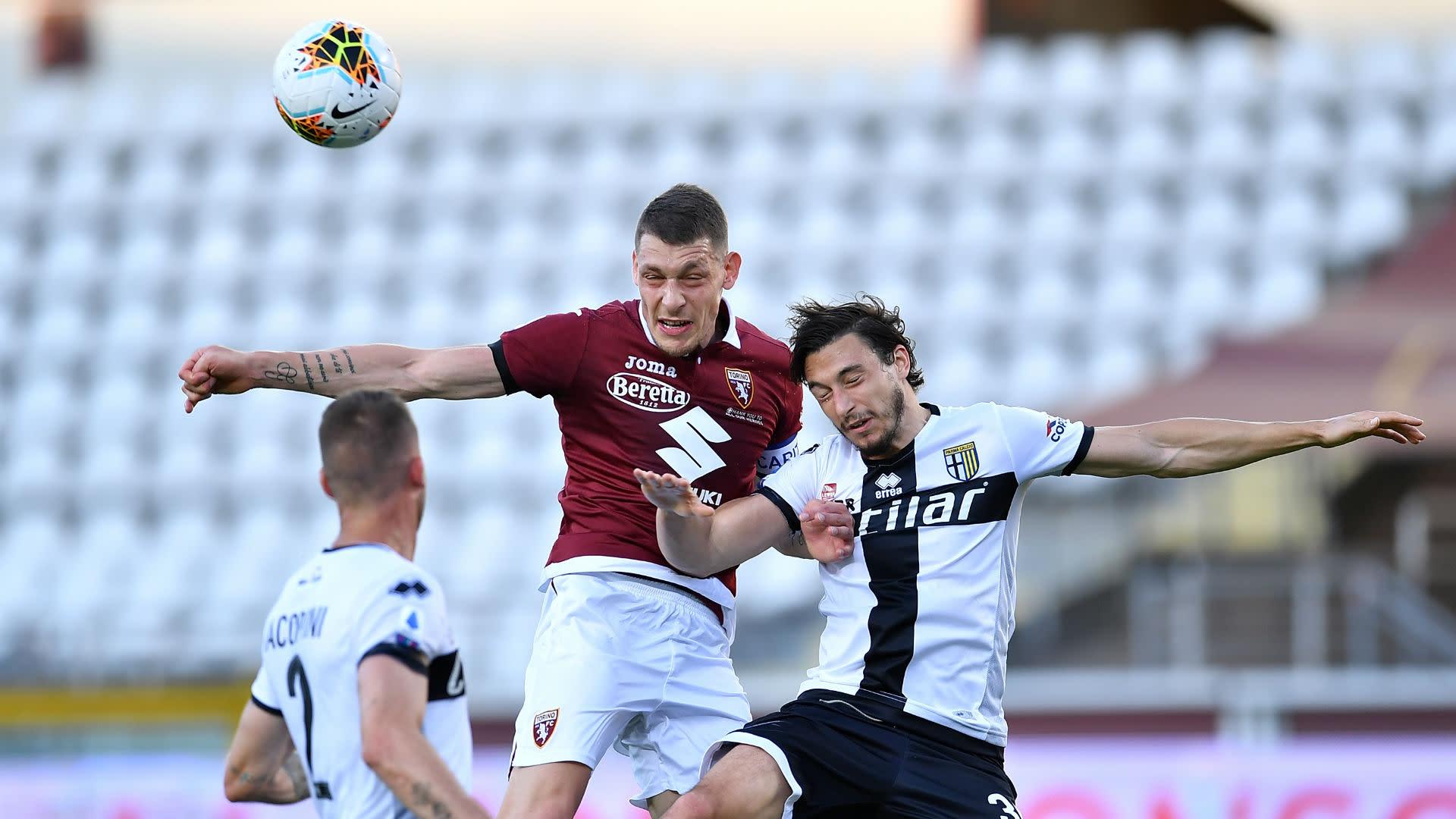 Torino 1 1 Parma Belotti Denied From Spot On Serie A S Return