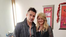 Colin Farrell hails charity challenge by brave friend with rare skin disease