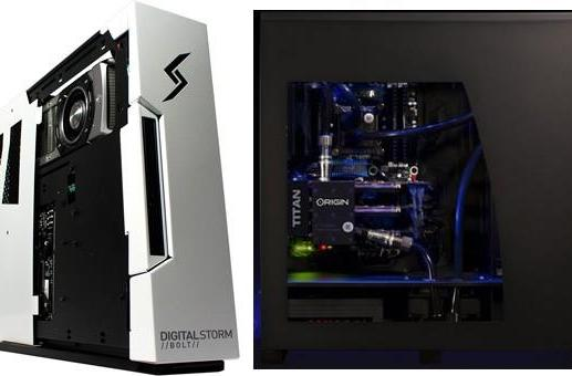Two more Titan-powered PCs emerge, from Digital Storm and Origin