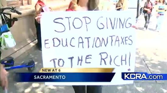 Education secretary holds education summit in Sacramento