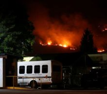 California wildfire explodes in size as blazes scorch U.S. West
