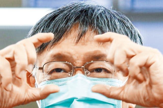 台北市長柯文哲30日表示,未來民眾黨把台大醫院、北市府好的文化帶進立法院,他並發下豪語說,要學習中央政府運作執政,為自己的執政做準備。(鄧博仁攝)