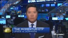 Upside and downside 'mometum' ETFs