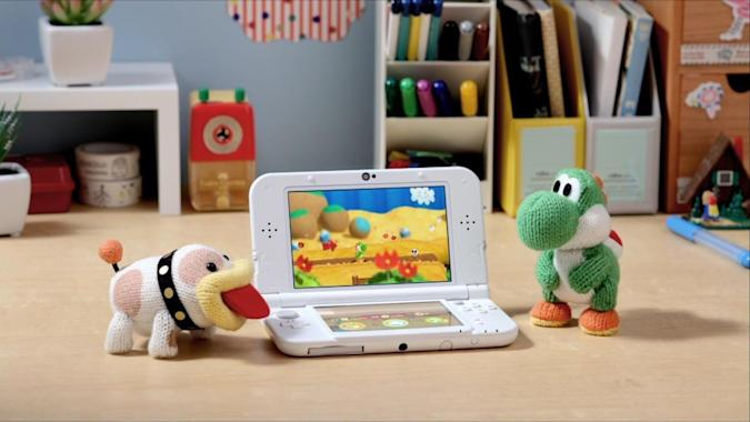 'Yoshi's Woolly World' hits 3DS next year with an adorable Amiibo