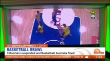 Three Boomer's players suspended and Basketball Australia fined