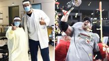 'He's a hero': Super Bowl winner quits season to remain on virus crisis frontline
