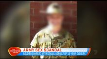 The army facing a new sex scandal