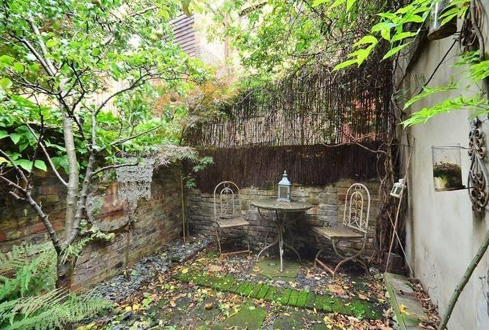 The property also features a small private courtyard.