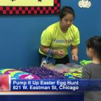 Things get 'EGGcellent' at Pump It Up this Easter Sunday