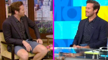 Armie Hammer wore shorts on 'Good Morning America' and Twitter is freaking out about it