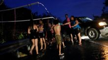 Puerto Rico mostly in the dark one month after hurricane