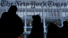 New York Times revenue misses view, warns of lower ad revenue