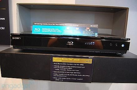 Sony network Blu-ray player spied at CEDIA
