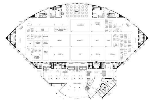 Strategize: The E3 2009 floor plans