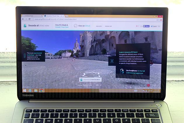 Sounds of Street View takes you on a virtual vacation