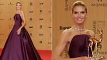 Heidi Klum, una elegante y moderna Cenicientaen los Bambi Awards 2015